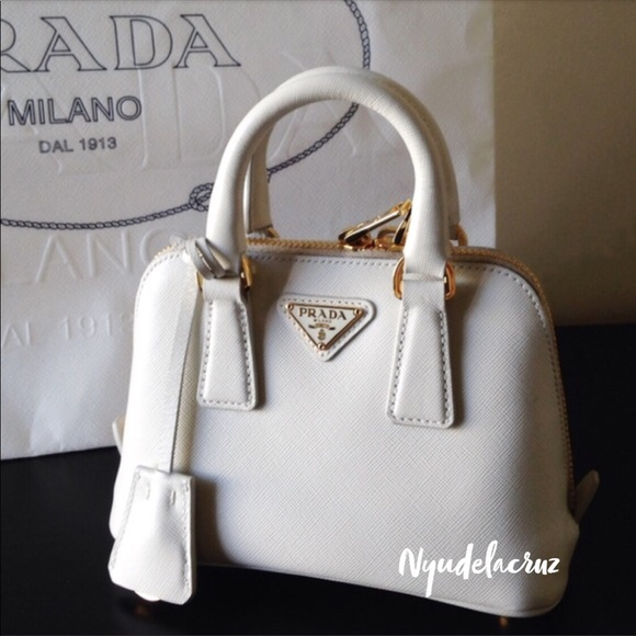 127be1c08cea 💯Authentic Prada mini Saffiano promenade bag. M_5b42d3b71b329460349fdde6